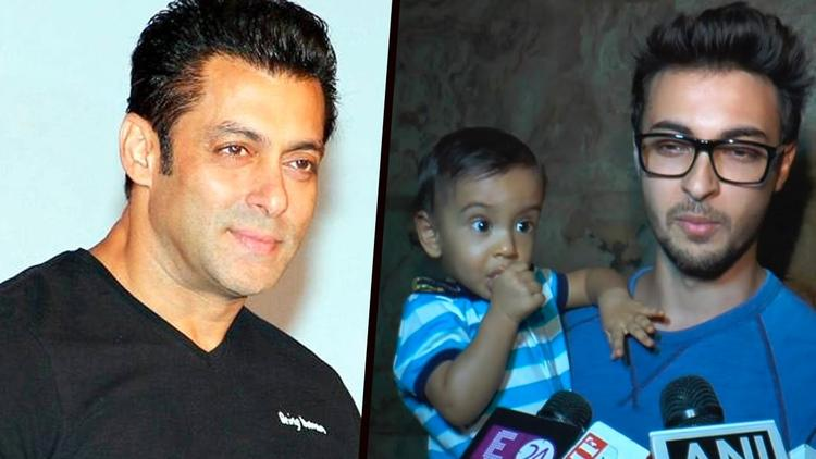 Salman too is quite close to Ahil. So do you think your baby has got a father figure? Does Ahil also miss you that much?