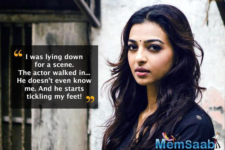 AndhaDhun marks Radhika Apte's second association with director Sriram Raghavan after Badlapur. As the movie releases today, Radhika shares a hearfelt message for the director indicating their warm bond.