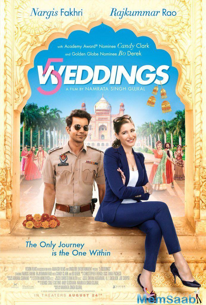 One of the best moments of shooting on 5 Weddings for the director was the times they were just driving around in circles because the bumpy roads would not allow them to shoot.
