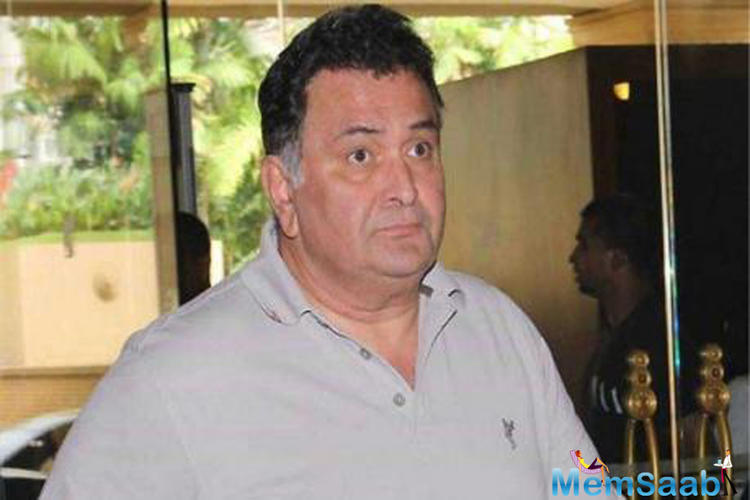 Rishi Kapoor, who recently flew to the United States with wife Neetu Kapoor to seek medical treatment, spent quality time with his 'Agneepath' co-star Priyanka Chopra.