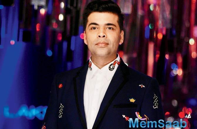 Karan Johar has been busy banking episodes for his upcoming chat show, Koffee With Karan.