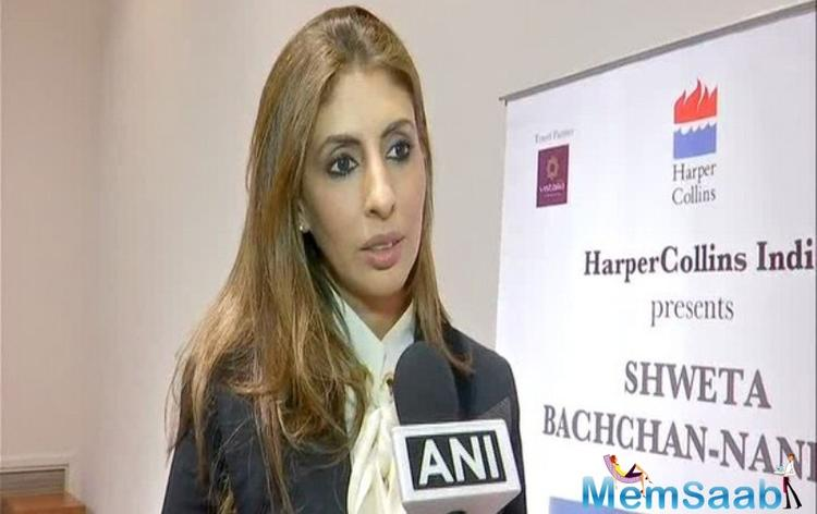 When asked about her opinion about the silence of prominent Bollywood actors on the issue, she replied,