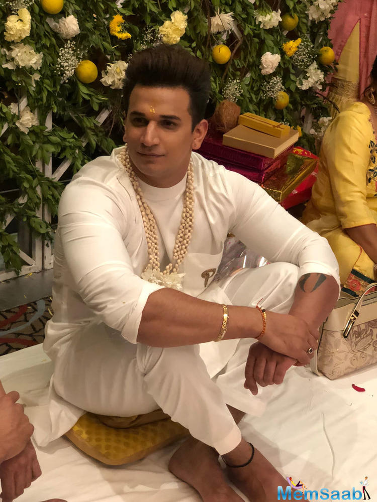 Ahead of the wedding day, Prince and Yuvika had a blast during their Mehendi ceremony. Several photos and videos from the function made their way to social media on Wednesday evening.