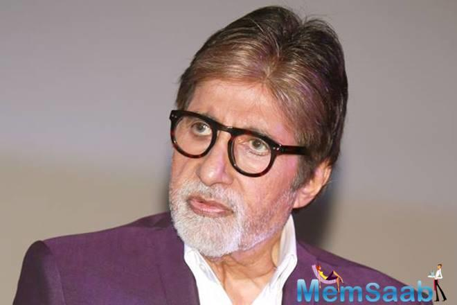 Senior Bachchan also called for the awareness at an educational level.