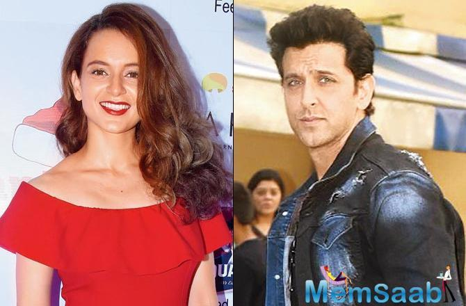 Kangana claims Hrithik was in a relationship with her behind his then-wife Sussanne Khan's back.