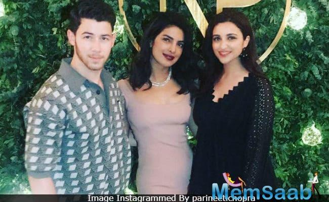 Nick's family is also very simple and grounded, Pari added.