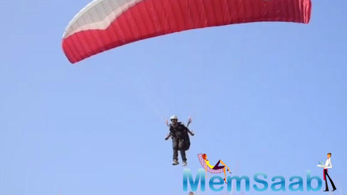 Singer-composer Vishal Dadlani says he is a licensed paraglider, and is hoping to get a solo pilot license by the end of this year.