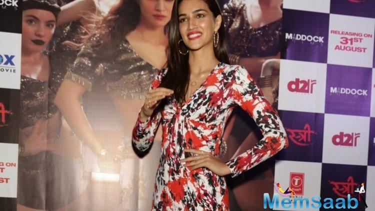 Kriti thanked girls for showing courage to speak out their harassment stories in public and said that #MeToo movement will now bring fear in people before they do anything wrong.