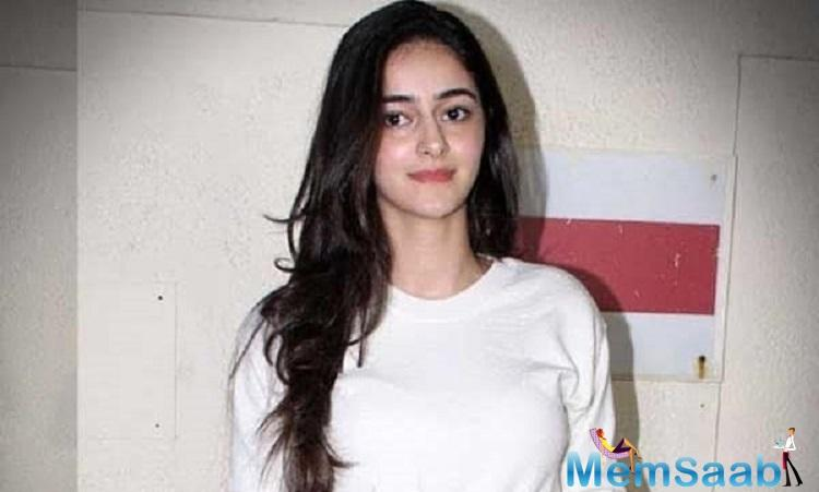 Sharing the news, Ananya took to her social media posting,