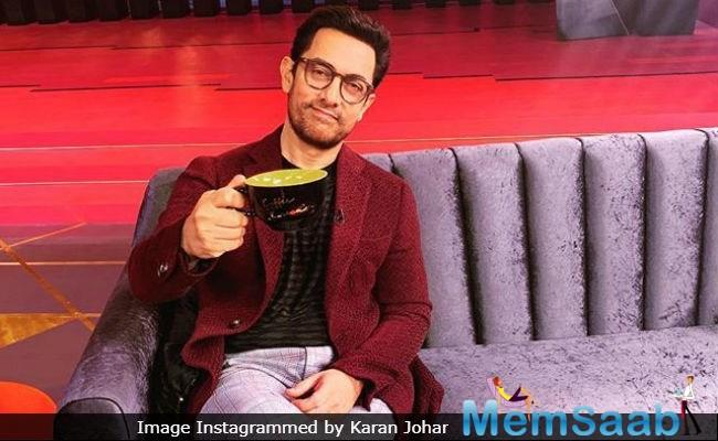 'Koffee With Karan' fans have a reason to rejoice, as Karan will be seen indulging in some crazy banter with Aamir Khan in one of the episodes of the new season.