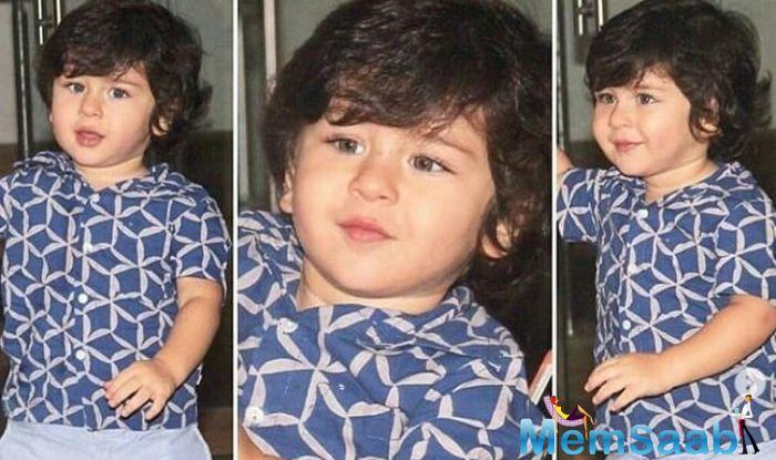 Ever since Taimur Ali Khan's images have started surfacing on social media, people can't stop looking at this little munchkin.