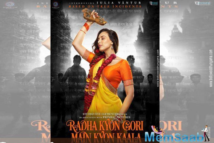 The story of Radha Kyon Gori Main Kyon Kaala is around the rape of a foreigner who visits India to know and understand Indian culture. Also starring actor Jimmy Shergill, the film will release in 2019.