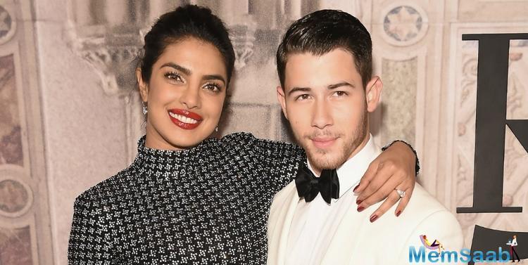 Priyanka reportedly met designer duo Abu Jani Sandeep Khosla to finalise her wedding outfit on October 6, 2018.