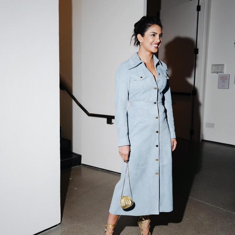 Priyanka Chopra attended the Golden Heart Awards in New York, sans fiance Nick Jonas.