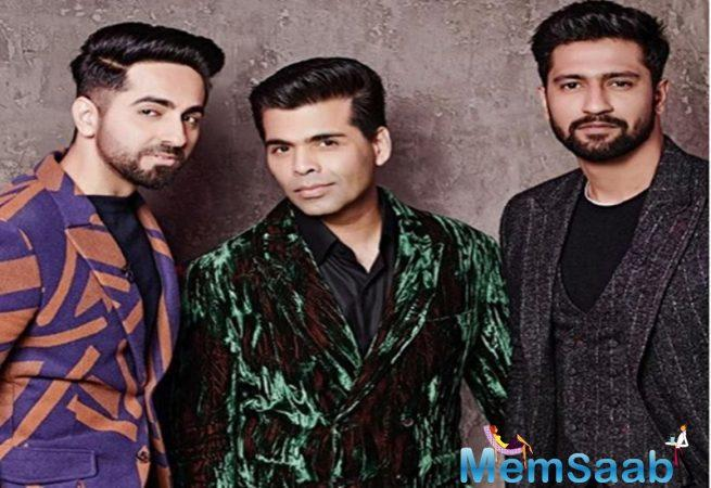 Bollywood superstars Ayushmann Khurrana and Vicky Kaushal are all set to make their debut at 'super' episode of 'Koffee with Karan'.