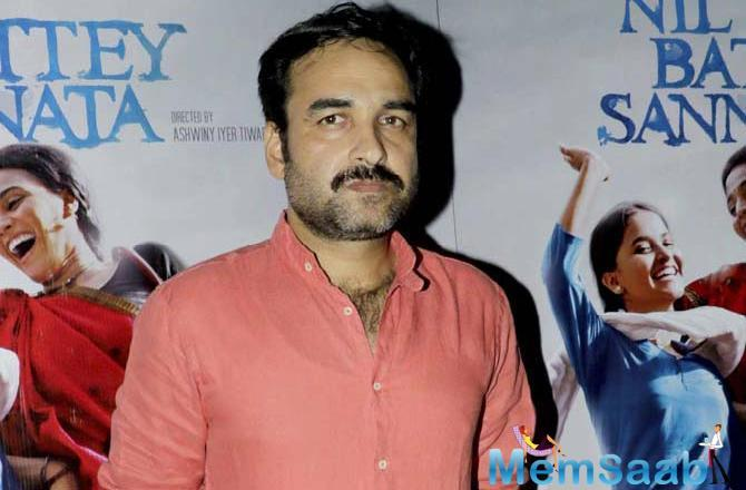 Pankaj Tripathi says he is a Hindi cinema actor so, promoting Hindi language is his duty.