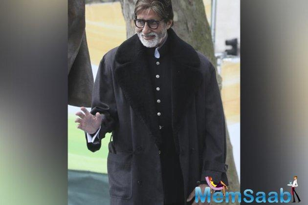 Amitabh Bachchan, who is well known for spreading messages on social issues, now, has a brand new one on rail safety.