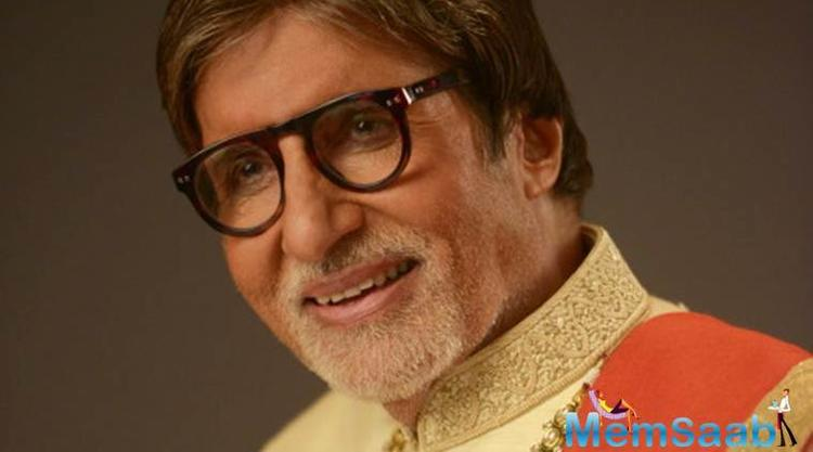 In the memoir video, Big B shared his treasured memory as a child watching trains.