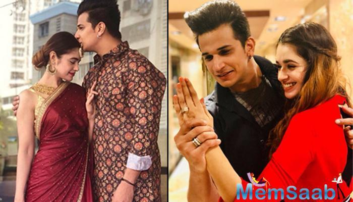 Newly-married celebrity couple Prince Narula and Yuvika Chaudhary, whose love affair began in Bigg Boss, say relationships can be made anywhere if there is a connect. They also can't wait to celebrate their first karwa chauth on Saturday.