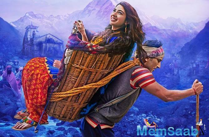 Kedarnath is a potent combination of love and religion, of passion and spirituality.