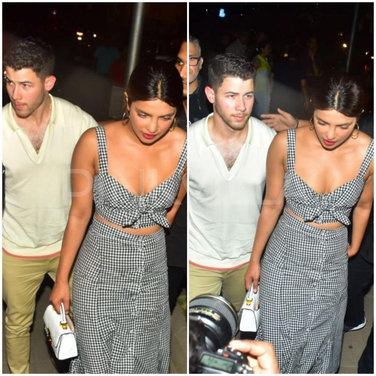 Nick popped the big question to Priyanka during a trip to London on her 36th birthday.