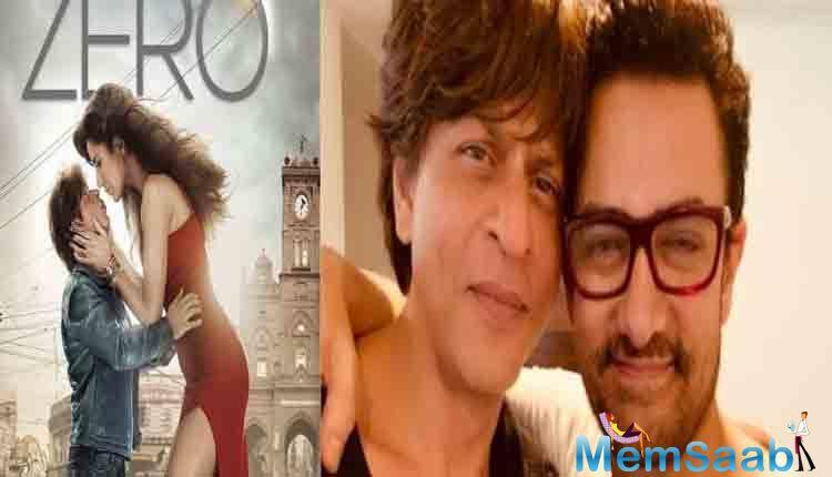 The makers then treated the audience with a big Eid treat in the form of a glimpse from the Shah Rukh Khan and Salman Khan song in the second teaser.
