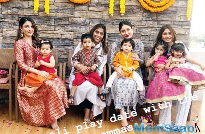 He likes to keep his distance from social media, even though Taimur is a star in that space, while sister Soha Ali Khan and sister-in-law Karisma Kapoor are quite active on various platforms.