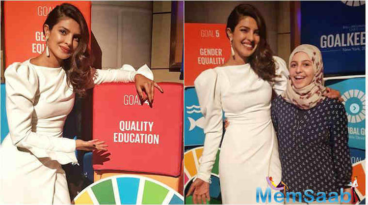 Speaking about one change, which the meeting with children has brought about in her personality, Priyanka said she definitely does not take her privileges for granted.