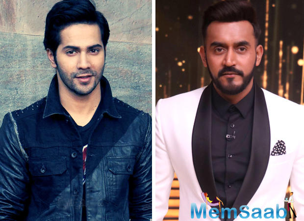 Actor Varun Dhawan and director Shashank Khaitan are shooting a new AD for TV, which also features Famous Punjabi Actress Parul Gulati.