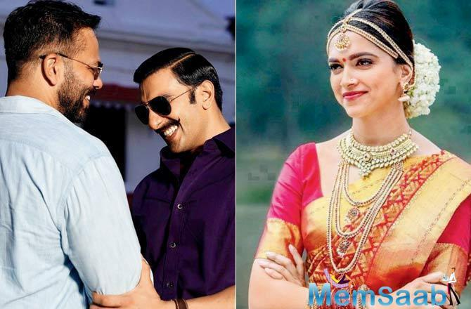Rohit Shetty posted an emotional message on social media yesterday for his Simmba actor Ranveer Singh and Deepika Padukone, who played Meenamma in his 2013 film, Chennai Express.