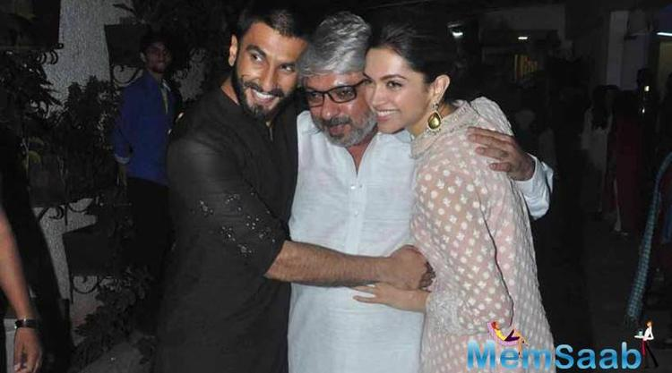 On Wednesday, Ranveer Singh and Deepika Padukone visited filmmaker-choreographer Farah Khan ahead of their wedding.