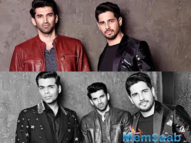 Aditya Roy Kapur will next be seen in Karan Johar produced multi-starrer Kalank and Sidharth Malhotra is currently shooting for Jabariya Jodi alongside Parineeti Chopra.