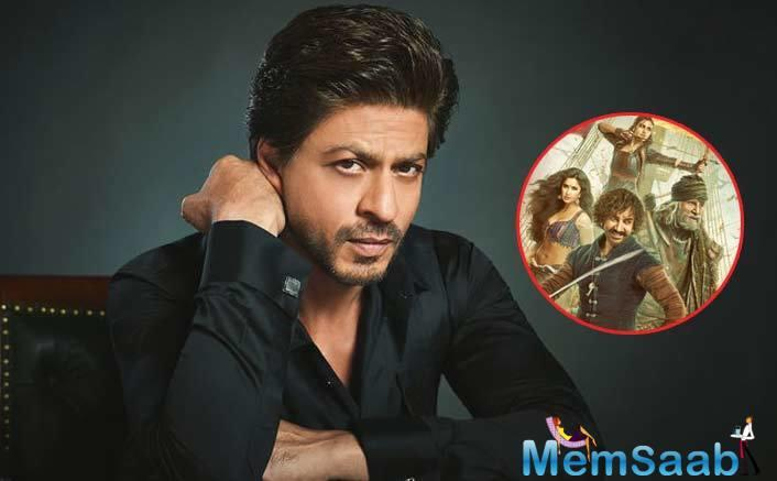 The actor portrays a character of a vertically challenged man in the movie. SRK, who is also known for his modesty, shared his views on the criticism faced by Amitabh Bachchan-Aamir Khan starrer Thugs Of Hindostan.