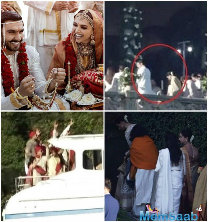 Ranveer Singh and Deepika Padukone are now officially Mr. and Mrs. Singh, not in one but two weddings - Konkani on Wednesday and Anand Karaj on Thursday.
