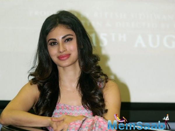 Mouni is sharing screen space with Amitabh Bachchan for the first time in their forthcoming film Brahmastra.