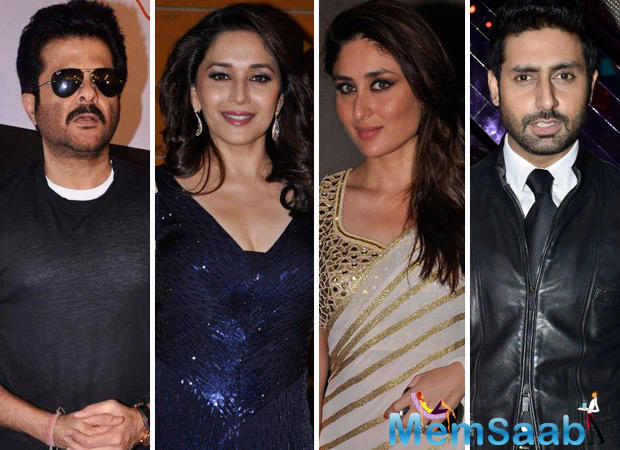 Anil Kapoor will be giving voice to the free-spirited bear Baloo, Madhuri Dixit to Nisha and Jackie Shroff to Sher Khan.