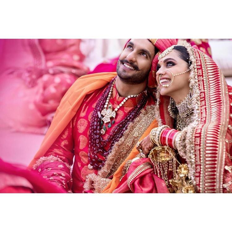 Ranveer Singh and Deepika Padukone the new Mr and Mrs were all smiles during their dreamy destination wedding in Italy.