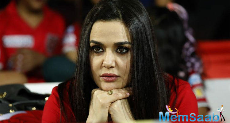 Referring to her own #MeToo experience, Preity said that it also happened to her and she reacted to it strongly.