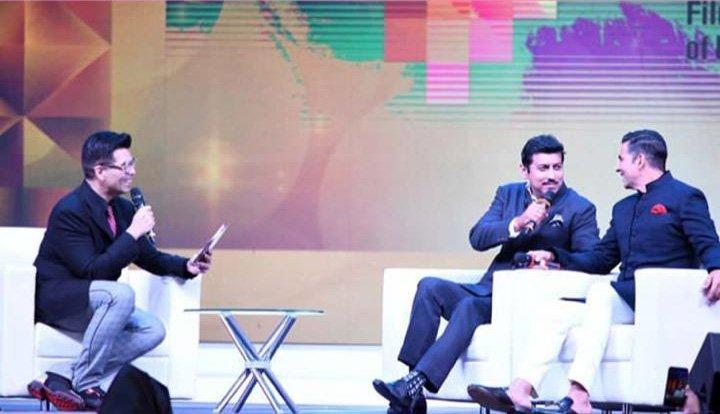 Starting off in Koffee with Karan style, Johar quizzed Akshay about being a sterling performer in Gold. The film was part of IFFI 2018.