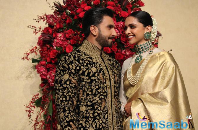 Newlywed couple Ranveer Singh and Deepika Padukone are in Bengaluru, the latter's hometown.