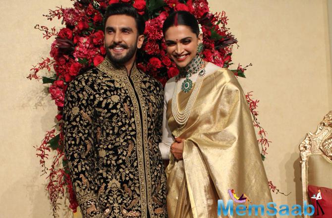 Ranveer-Deepika Bengaluru wedding reception: Duo look ...