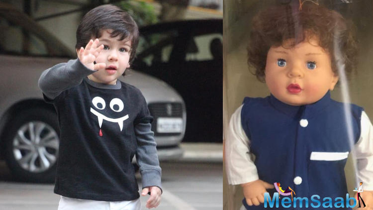 When his actor-mother Kareena Kapoor Khan was asked about her reaction after knowing about dolls modelled on her son, she was clueless.