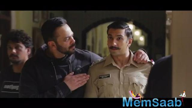Ranveer Singh, who recently got married to Deepika Padukone, has shared a nostalgic video dedicated to Rohit Shetty, the director of his forthcoming film Simmba.