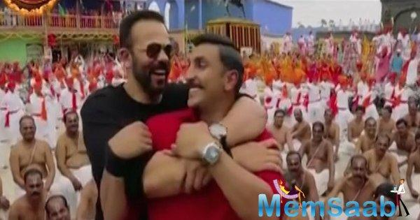 Taking to his Instagram, the 'Padmaavat' star posted a video to thank Rohit Shetty. He captioned it as, 'Bhai is Bhai love you @itsrohitshetty #Simmba.