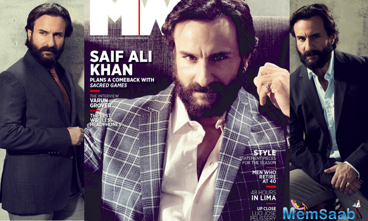 With back-to-back success of Sacred Games and Baazaar, Saif Ali Khan is in happy space and hopes next year turns out to be equally good.