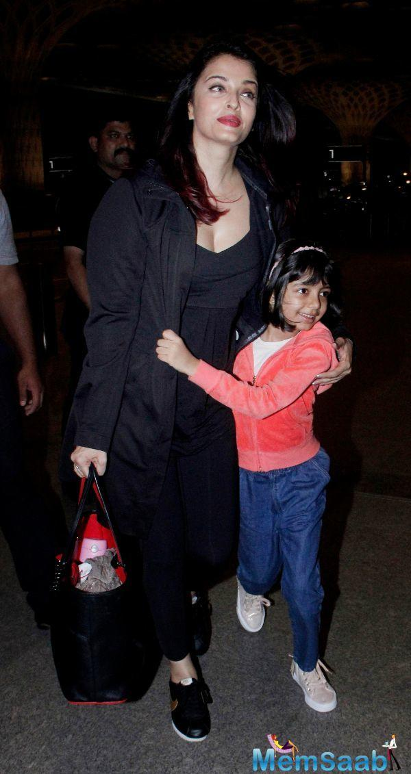 "A friend of Aishwarya says, ""Unlike the other star kids, Aaradhya is not being brought up by her nanny."