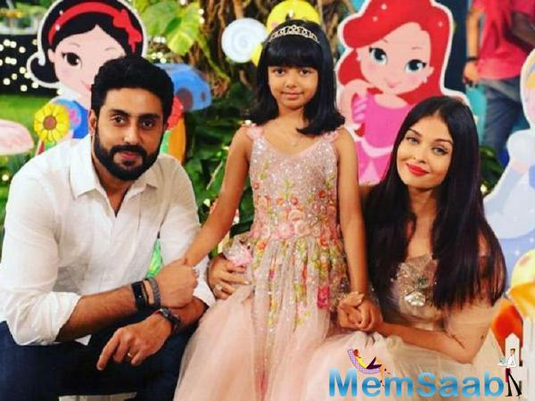 Hands down, the favourite member of the Bachchan household is little Aaradhya, who just turned seven this week. But the youngest Bachchan behaves like someone much older and wiser.