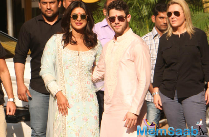 Although the bride and groom-to-be and the family are in Mumbai, guests have started arriving in Jodhpur.