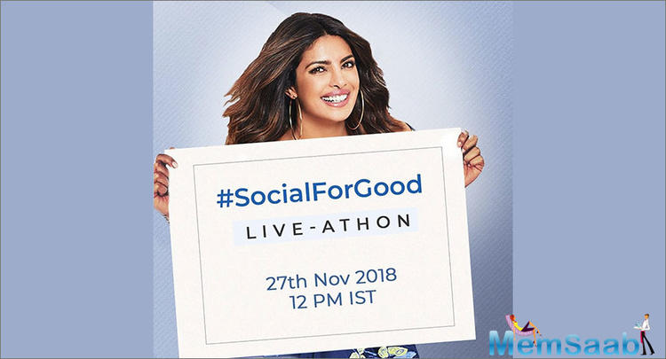 By the end of four hours, #SocialForGood Live-Athon had garnered over three million views and over 15,244 donations (which is more than a donation per second!) from over 57 cities across the globe.