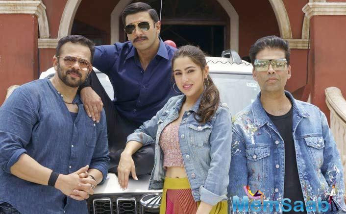 Besides Ranveer and Sara, the film also has Sonu Sood playing a baddy as well as Siddharth Jadhav, Ashutosh Rana and Vaidehi Parshurami in pivotal roles.